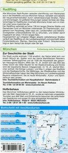 Radwanderkarte München und Umgebung mit RadlRing 1 : 75 000