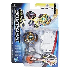 Hasbro E0723EU4 - Beyblade Burst Switch Strike Starter Pack, Kre