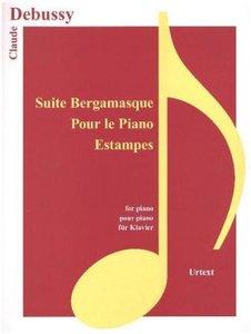 Suite Bergamasque, Pour le piano, Estampes, für Klavier