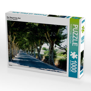 Der Weg Ist das Ziel 1000 Teile Puzzle quer