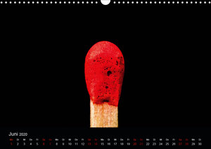 Rot. Rot. Rot (Wandkalender 2020 DIN A3 quer)