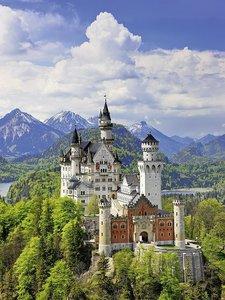 Märchenhaftes Schloss Neuschwanstein Gold Edition
