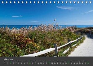 Herbst und Küste in Boston & New England (Tischkalender 2019 DIN