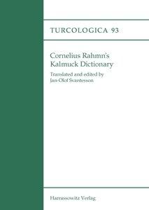 Cornelius Rahmn's Kalmuck Dictionary