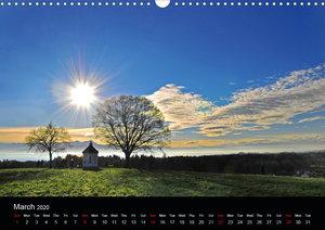 Romantic Places In Bavaria (Wall Calendar 2020 DIN A3 Landscape)
