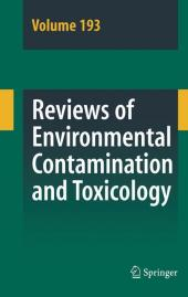 Reviews of Environmental Contamination and Toxicology 193 - zum Schließen ins Bild klicken