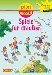 Pixi Wissen, Band 64: VE 5 Spiele für draußen