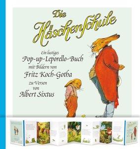 Die Häschenschule: Die Häschenschule - Pop-up-Leporello-Buch