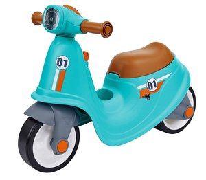 BIG 800056377 - Classic Sport Scooter, Laufrad für Kinder, Rolle