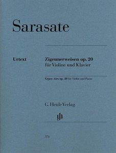 Zigeunerweisen op. 20 für Violine und Klavier