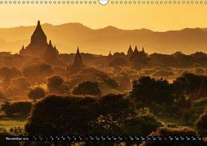 Myanmar - Im Land der Pagoden (Wandkalender 2019 DIN A3 quer)