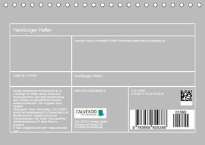Hamburger Hafen (Tischkalender 2019 DIN A5 quer)