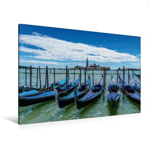 Premium Textil-Leinwand 120 cm x 80 cm quer Venedig