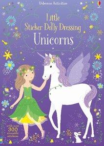 Little Sticker Dolly Dressing - Unicorns