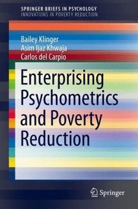 Enterprising Psychometrics and Poverty Reduction
