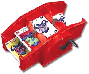 Kartenmischmaschine (Spiel-Zubehör), rot