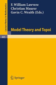 Model Theory and Topoi