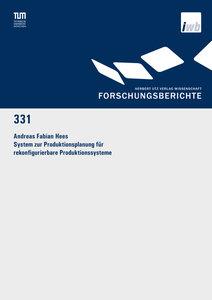 System zur Produktionsplanung für rekonfigurierbare Produktionss