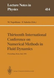 Thirteenth International Conference on Numerical Methods in Flui