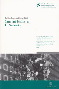 Current Issues in IT Security