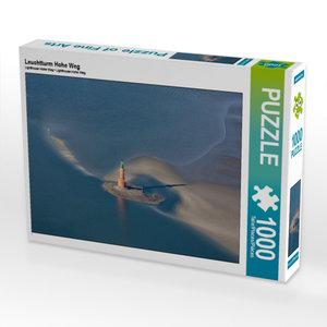 Leuchtturm Hohe Weg 1000 Teile Puzzle quer