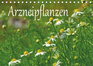 Arzneipflanzen (Tischkalender 2019 DIN A5 quer)