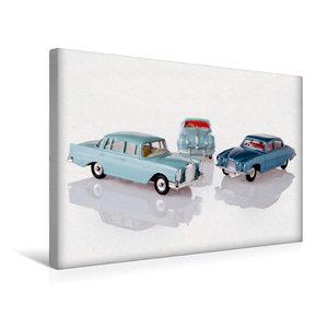 Premium Textil-Leinwand 45 cm x 30 cm quer Dinky Toys Spielzeuga