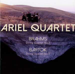 Brahms:String Quartet 2/Bartok:String Quartet 1