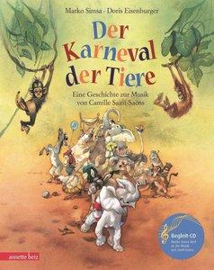 Der Karneval der Tiere. Mit CD