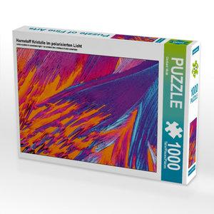 Harnstoff Kristalle im polarisierten Licht 1000 Teile Puzzle que