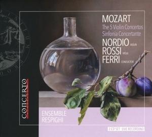 Die fünf Violinkonzerte und Sinfonia concertante