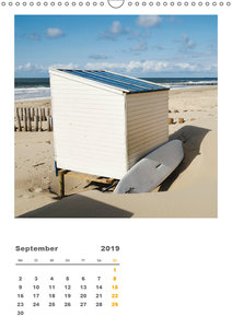 Hollands Strandparadies Zeeland (Wandkalender 2019 DIN A3 hoch)