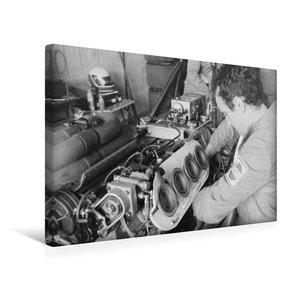 Premium Textil-Leinwand 45 cm x 30 cm quer Montage