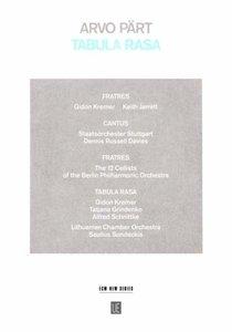 Tabula Rasa, Sonderedition und Audio-CD