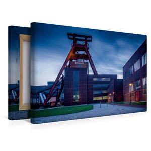 Premium Textil-Leinwand 45 cm x 30 cm quer Förderturm - das Wahr