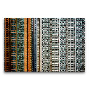Premium Textil-Leinwand 75 cm x 50 cm quer Harbour Plaza