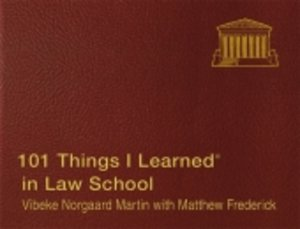 101 Things I Learned in Law School