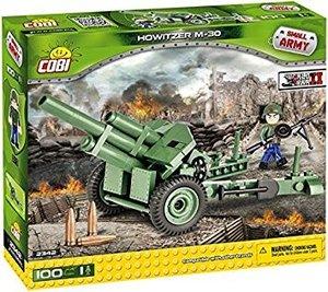 COBI 2342 - SMALL ARMY, Howitzer M-30, Haubitze, WWII, Bausatz,