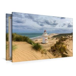 Premium Textil-Leinwand 120 cm x 80 cm quer Pouto Point Lighthou