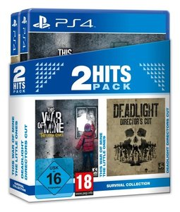 This War of Mine + Deadlight, Director\'s Cut, 1 PS4-Blu-ray Dis