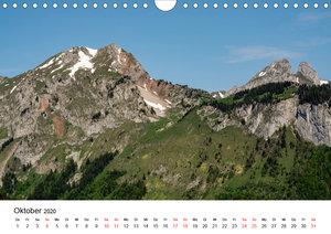 Gesichter der Schweiz, Zwischen Seen und Bergen (Wandkalender 20
