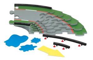SIKU Racing Fahrbahn Set (30 Grad Kurve)