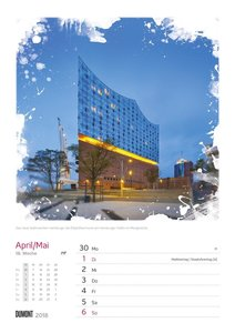 In Deutschland unterwegs Wochenkalender 2018
