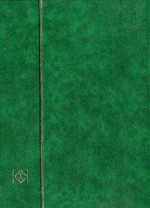 Einsteckbuch DIN A4, 16 weiße Seiten, grün