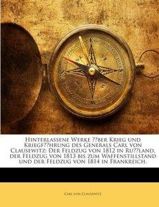 Hinterlassene Werke über Krieg und Kriegführung des Generals Car
