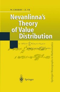 Nevanlinna's Theory of Value Distribution