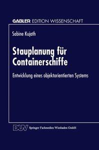 Stauplanung für Containerschiffe