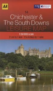 Leisure Map WK 14 Chichester 1 : 50 000