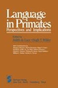 Language in Primates