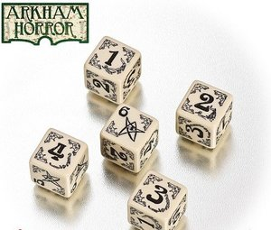 Heidelberger FF899 - Arkham Horror Dice Set/White